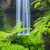 Image of Millaa Millaa Falls on Atherton Tablelands, North Queensland, Australia