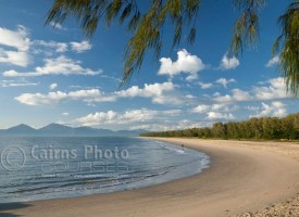 Image of Yorkeys Knob beach at dawn, Cairns, North Queensland, Australia