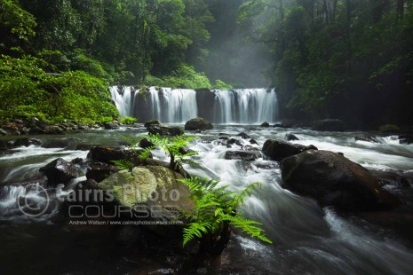 Image of majestic Nandroya Falls, Atherton Tablelands, North Queensland, Australia