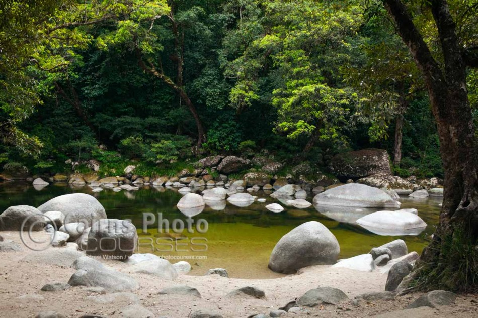 Image of Mossman Gorge, Daintree National Park, North Queensland, Australia