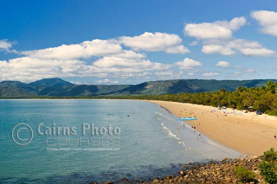 Image of Four Mile Beach, Port Douglas, North Queensland, Australia