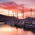Image of Marlina Marina at dawn, Cairns, North Queensland, Australia