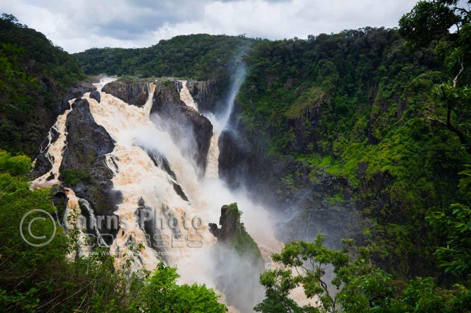Image of Barron Falls during the monsoon season, Kuranda, Cairns, North Queensland, Australia