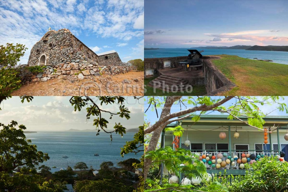 Images of Thursday Island and Hammond Island in the Torres Strait, North Queensland, Australia